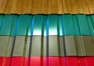 Монтаж или ремонт кровли (крыши) из профнастила